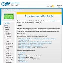 Baladopage: Trouver des ressources libres de droits : images, sons, etc.