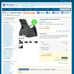 Inner Balance ZG571 Zero Gravity Chair