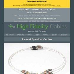 High End Speaker Cables