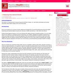 Chinese Medicine & The Psoas