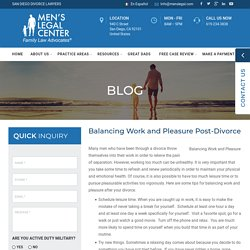 Balancing Work and Pleasure Post-Divorce
