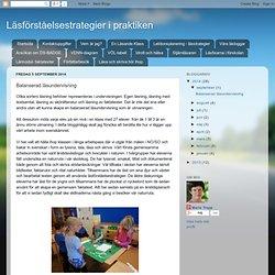 Balanserad läsundervisning