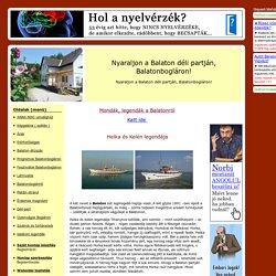Balatoni legendák - Helka és Kelén