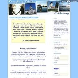Mondák, legendák és versek a Balatonról - Karnyújtásnyi Balaton