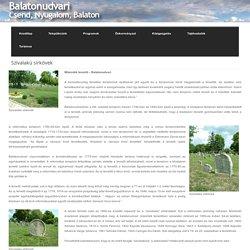 Balatonudvari » Szívalakú sírkövek