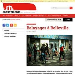 Balayages à Belleville