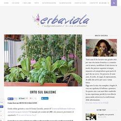 ORTO SUL BALCONE - Erbaviola.com - Grazia Cacciola