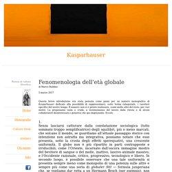 Marco Baldino: Fenomenologia dell'età globale