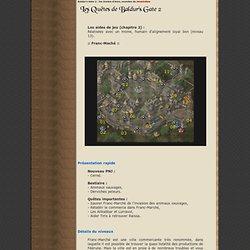 Baldur's Gate 2 - Aides de jeu