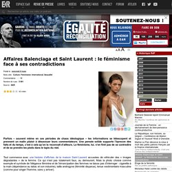 Affaires Balenciaga et Saint Laurent : le féminisme face à ses contradictions