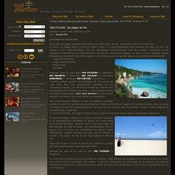 BALI PLAGE - les plages de l'île.