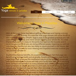 Bali Yoga Retreats in Paradise