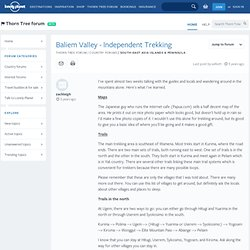 Baliem Valley - Independent Trekking - Lonely Planet travel forum