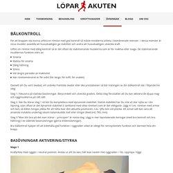 Bålkontroll - LoparAkuten.se