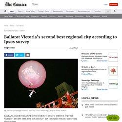 Ballarat Victoria's second best regional city according to Ipsos survey