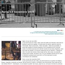 BALLAST Paris, 13 novembre 2015
