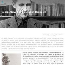 BALLAST George Orwell et la question féministe