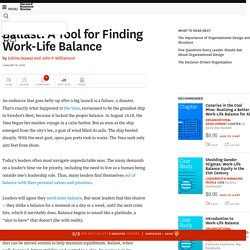 Ballast: A Tool for Finding Work-Life Balance