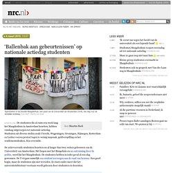 'Ballenbak aan gebeurtenissen' op nationale actiedag studenten