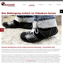 Ballengang im kostenfreien Video-Kurs - senmotic-shoes.eu
