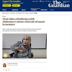 Viral video of ballerina with Alzheimer's shows vital role of music in memory
