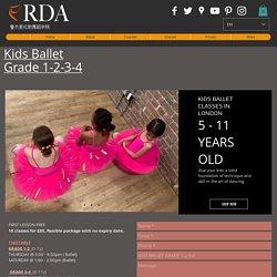 Kids Ballet Grade 1 Classes London, RDA - Perfoming Arts Dance ...