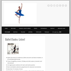 Ballet Etudes audio samples