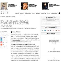 Ballet Exercise – Get a Dancer's Body on ELLE
