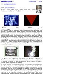 Ballet mécanique de Fernand Léger
