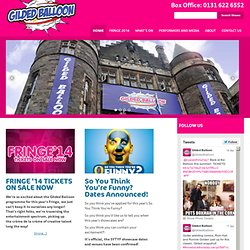 Gilded Balloon | Gilded Balloon home to the Edinburgh Fringe's legendary Late'n'Live
