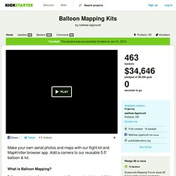 Balloon Mapping Kits by mathew lippincott