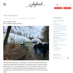 The Balloon - Saybrook University