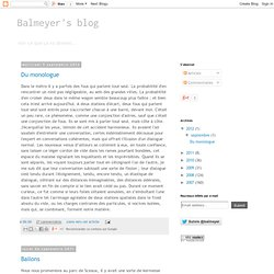 Balmeyer's blog