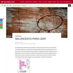 Baloncesto para leer / Sillonbol.com