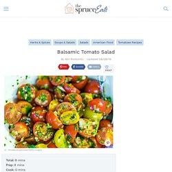 Balsamic Tomato Salad Recipe