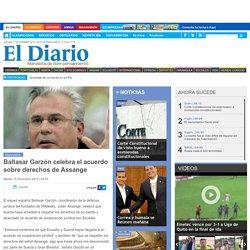 Baltasar Garzón celebra el acuerdo sobre derechos de Assange