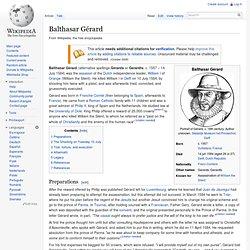 Balthasar Gérard