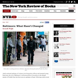 Baltimore: What Hasn't Changed by Steven H. Wright