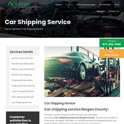 Car Shipping Service in Baltimore