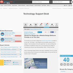 Technology Support Desk in Baltimore, MD 21211