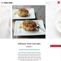 Baltimore-Style Crab Cakes Recipe - Andrew Zimmern