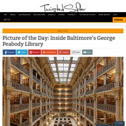 Inside Baltimore's George Peabody Library