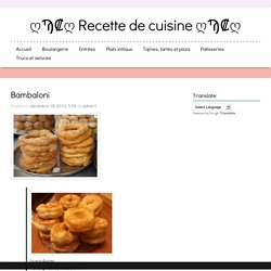 ღϠ₡ღ Recette de cuisine ღϠ₡ღ