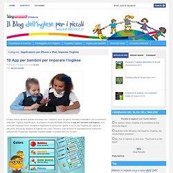 10 App per bambini per imparare l'inglese