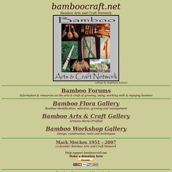 Bamboo Arts and Craft Network
