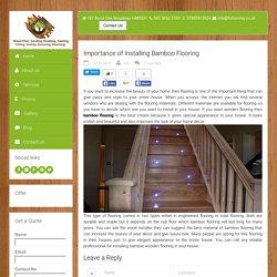 Bamboo Flooring London