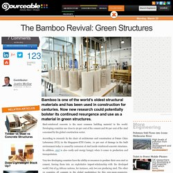 The Bamboo Revival: Green Structures