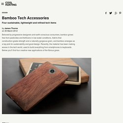 Bamboo Tech Accessories
