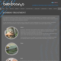 Bamboo Treatment