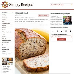 ** Banana Bread Recipe